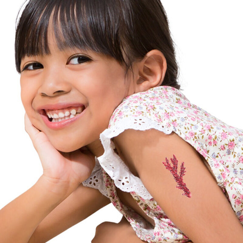 Coral Temporary Tattoo image number null