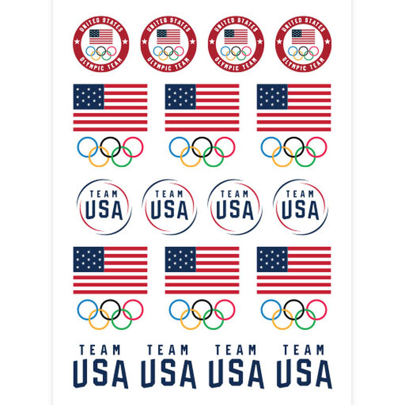 team usa tattoo sheet image number null