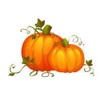 Cute Pumpkins Temporary Tattoo