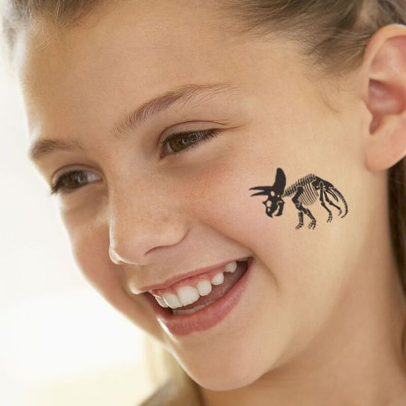 Triceratops Temporary Tattoo image number null