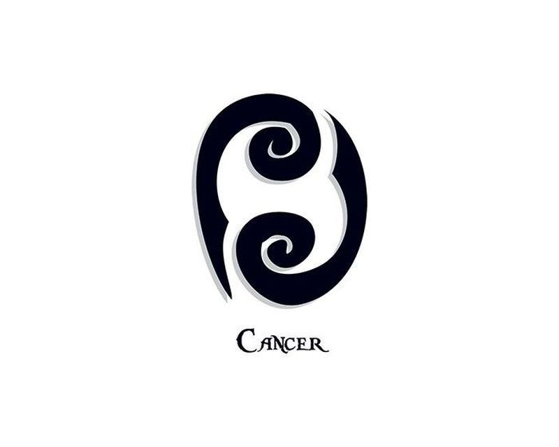 Zodiac: Cancer Temporary Tattoo image number null