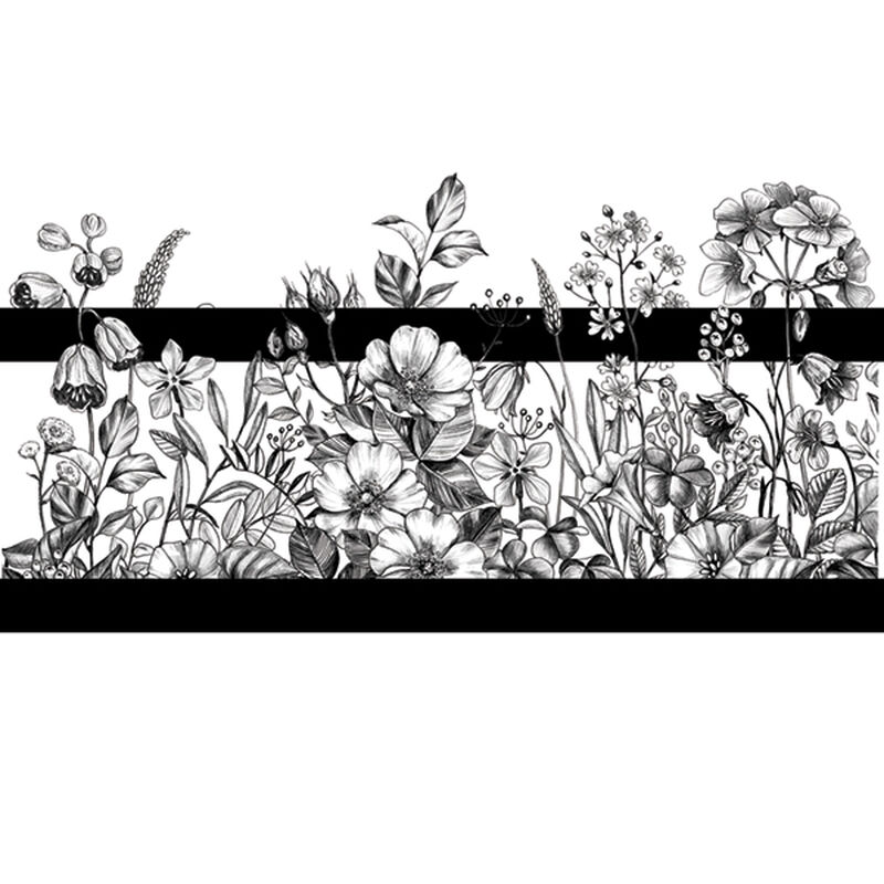 FLORAL BAND TEMPORARY TATTOO image number null