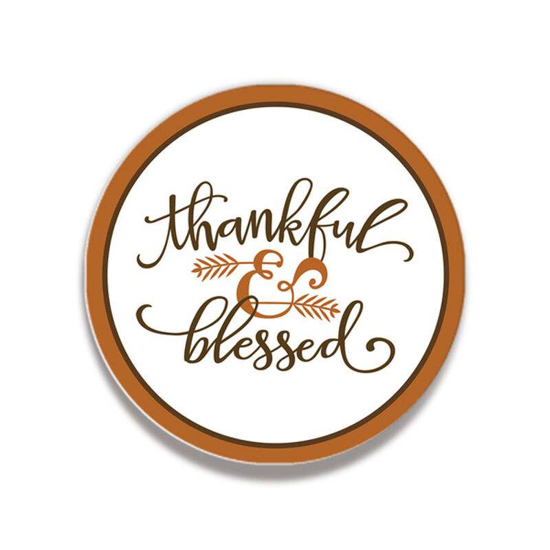 Thankful & Blessed Coaster Gift Box image number null