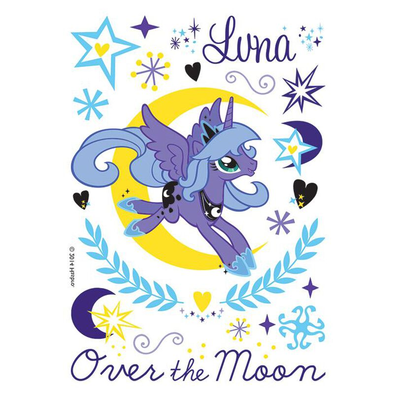 Over the Moon Luna Temporary Tattoo image number null