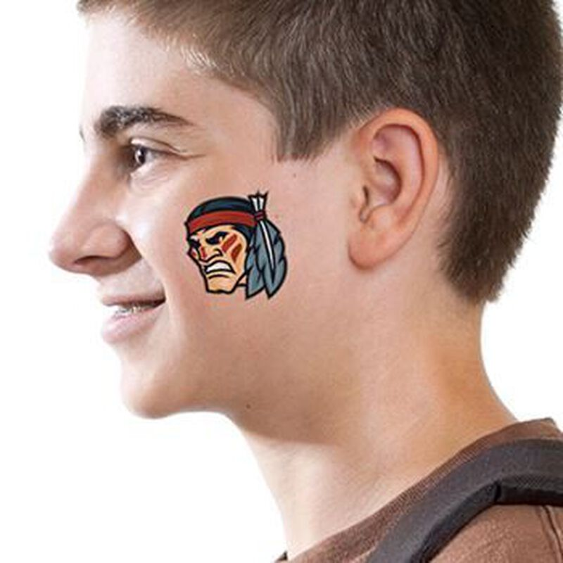 Indian Brave Temporary Tattoo image number null