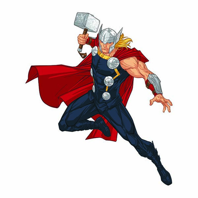 Avengers Thor Temporary Tattoo image number null