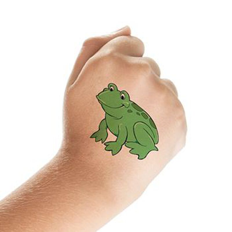 Frog Temporary Tattoo image number null