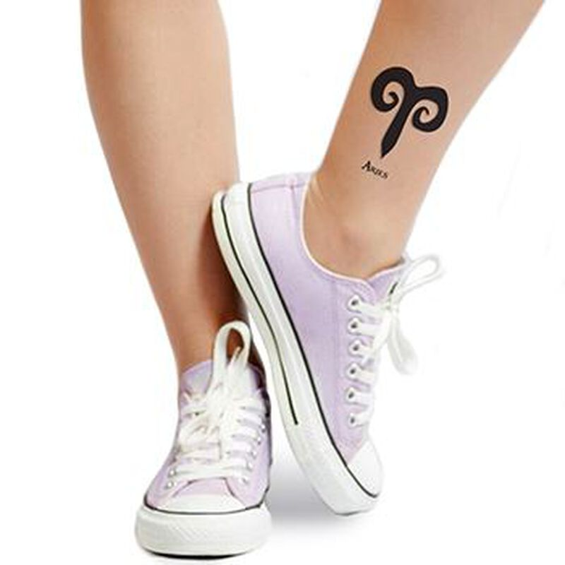 Zodiac: Aries Temporary Tattoo image number null