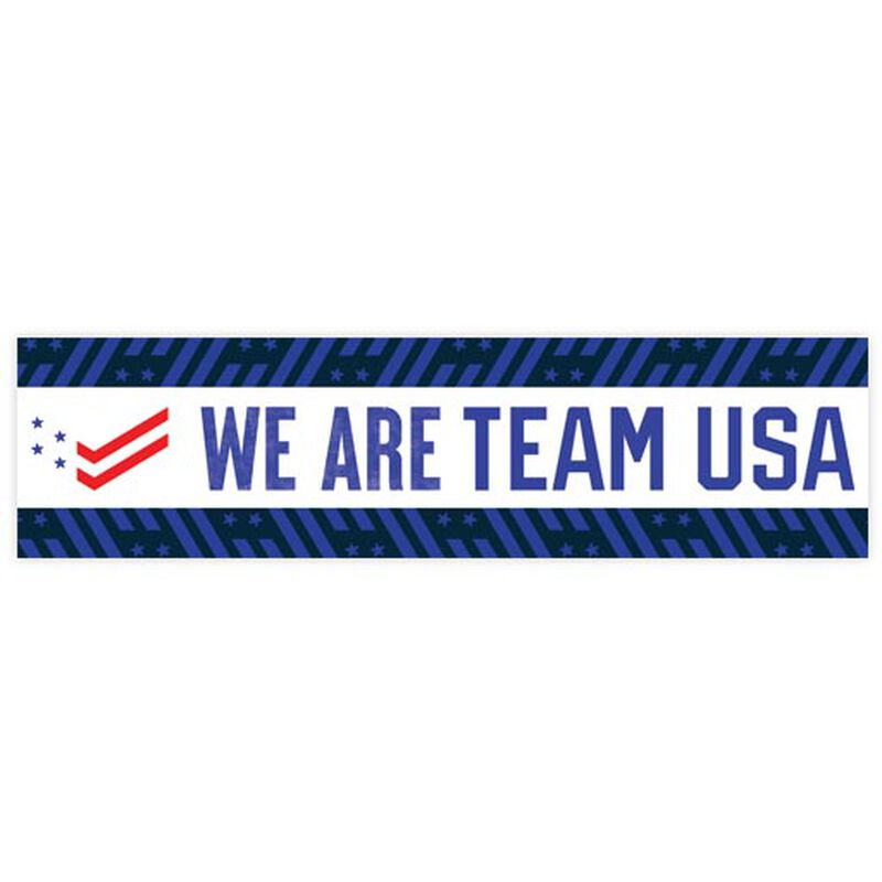 we are team usa bumper sticker image number null