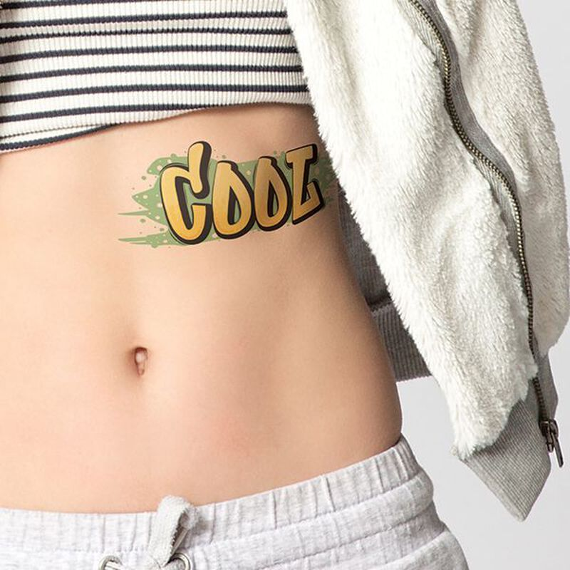 Cool Graffiti Temporary Tattoo image number null