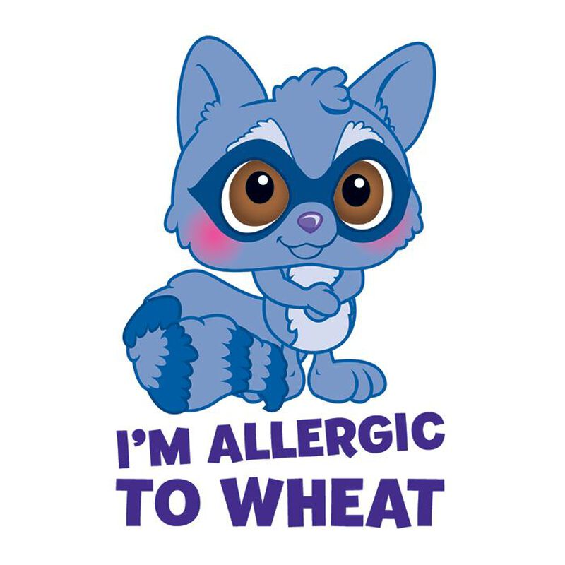 Wheat Allergy Temporary Tattoo image number null