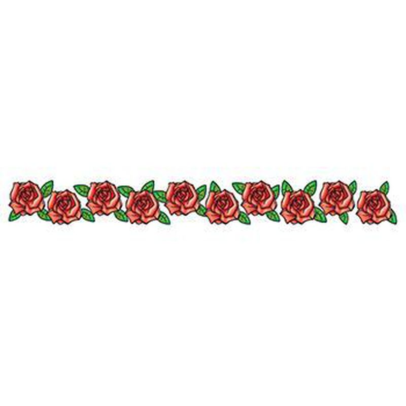 Band of Roses Temporary Tattoo image number null