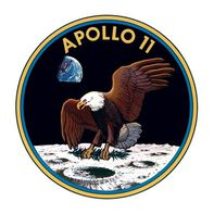 Apollo 11 Temporary Tattoo