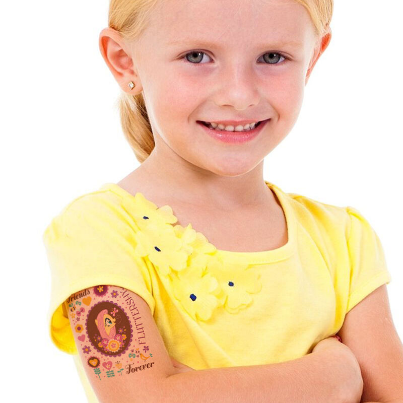 My Little Pony Fluttershy Temporary Tattoo image number null