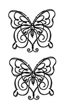 Simple Butterflies Temporary Tattoos