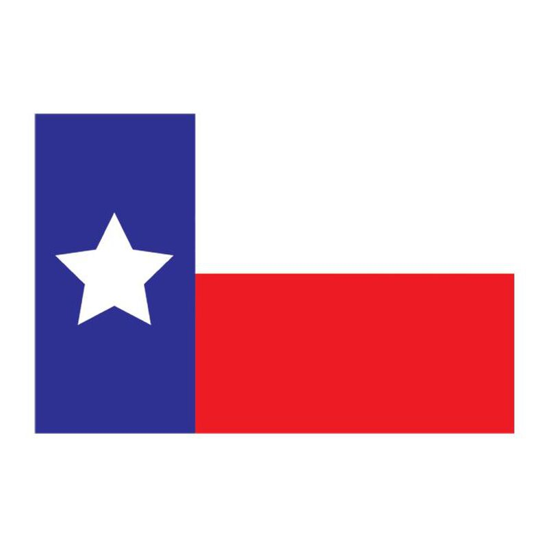 Texas State Flag Lone Star Temporary Tattoo image number null