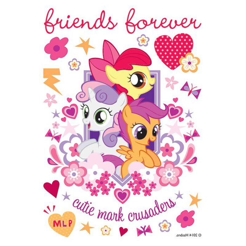 Cutie Mark Crusaders Temporary Tattoo image number null