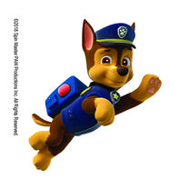 PAW Patrol Chase in Action Temporary Tattoo