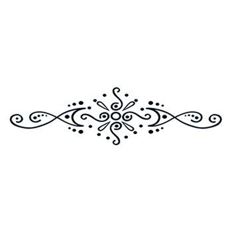 Henna: Reaching Beyond Lower Back Temporary Tattoo image number null