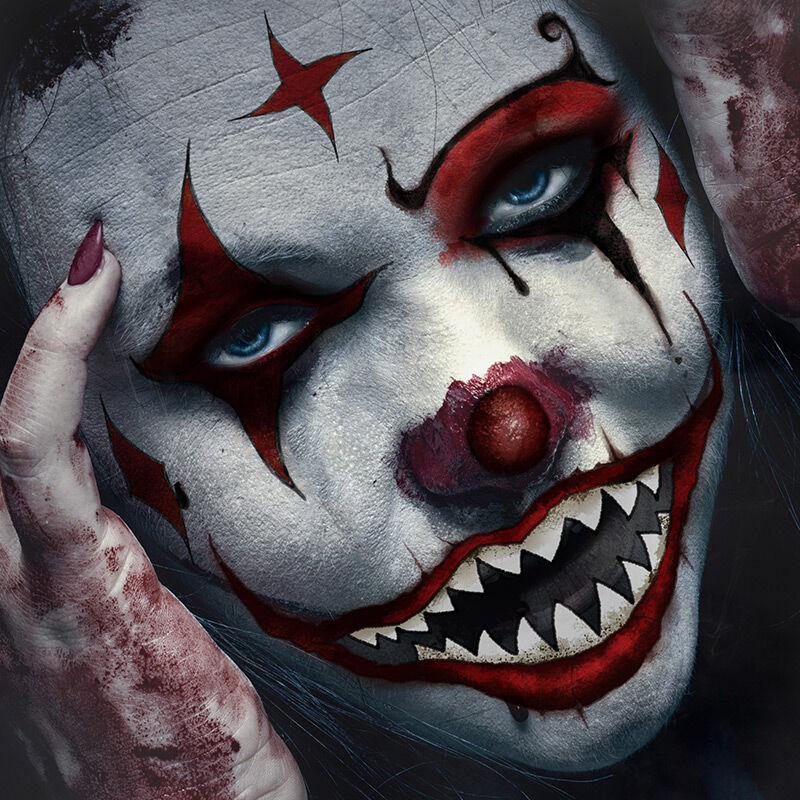 Ripped Lips Big Mouth Costume Tattoo image number null