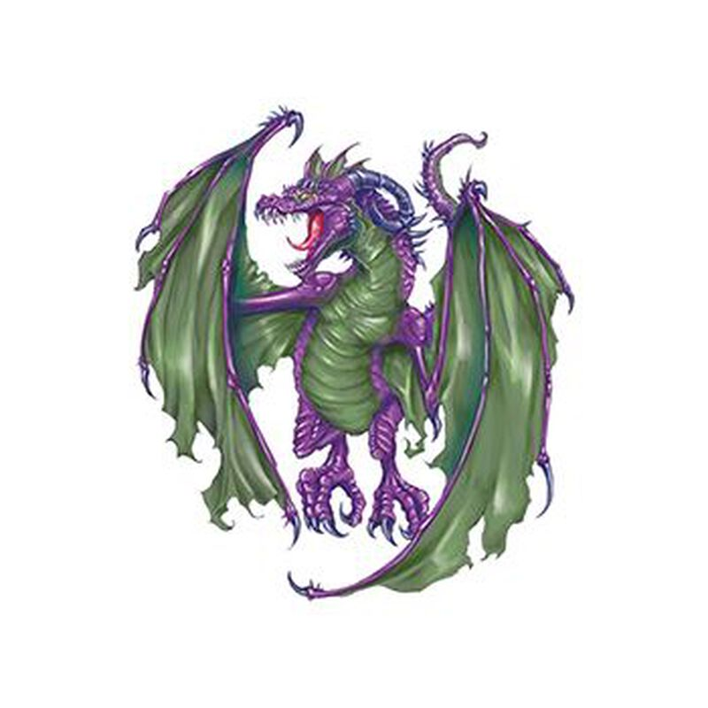 Roaring Dragon Temporary Tattoo image number null