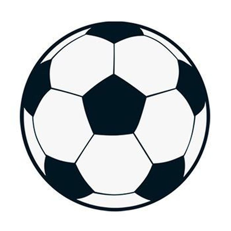 Soccer Ball Temporary Tattoo image number null