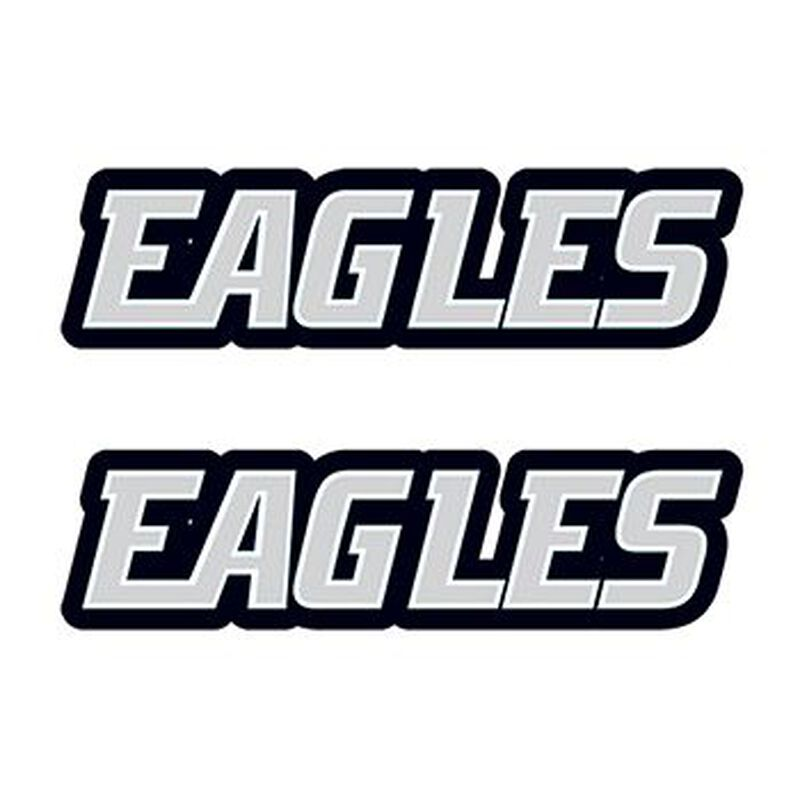 Eagles Text Temporary Tattoo image number null