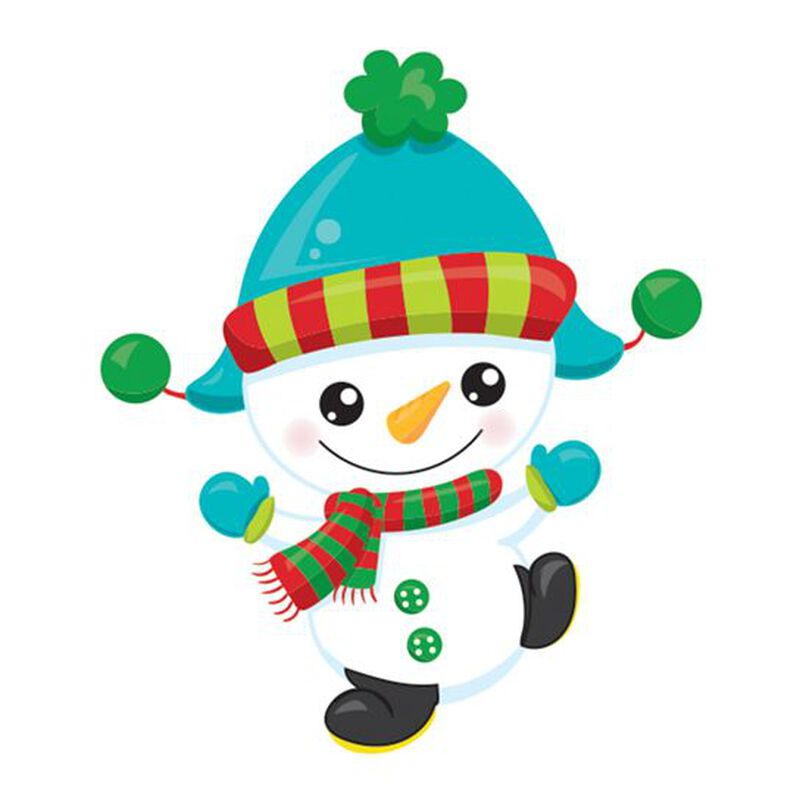 Jolly Snowman Temporary Tattoo image number null
