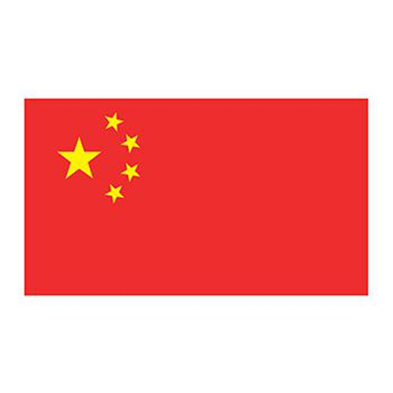 China Flag Temporary Tattoo image number null