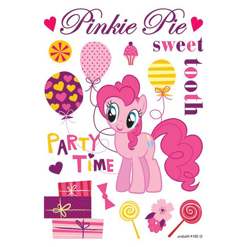 PinkiePie Sweet Party Time Temporary Tattoo image number null
