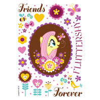 My Little Pony Fluttershy Temporary Tattoo