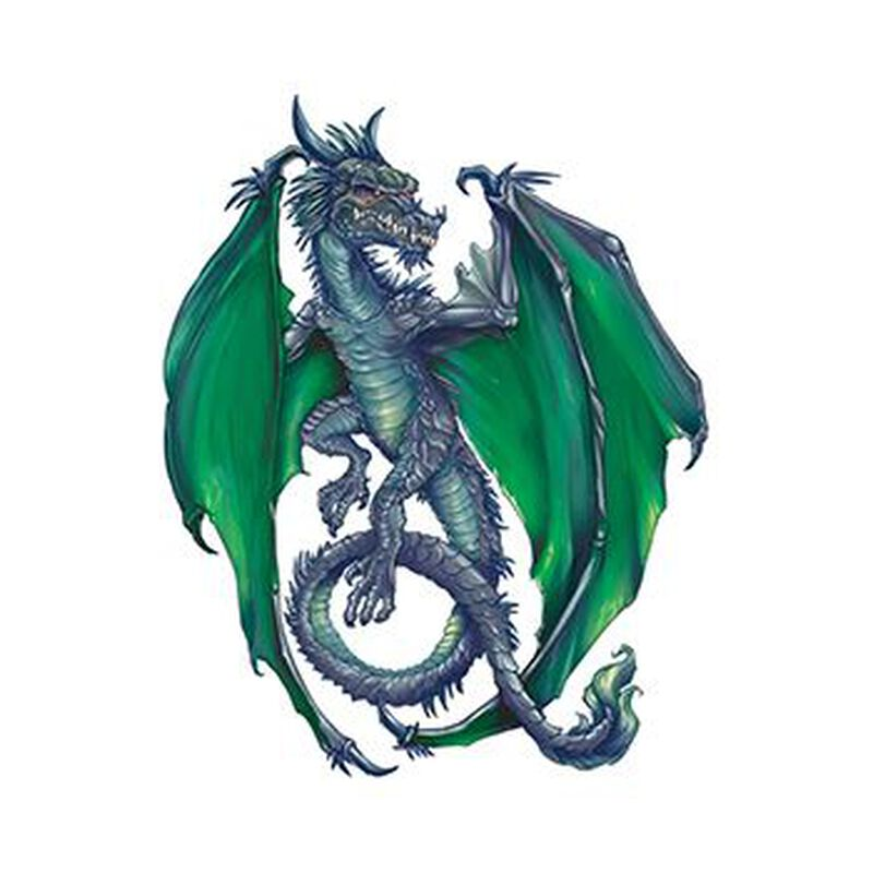 Mischievous Dragon Temporary Tattoo image number null