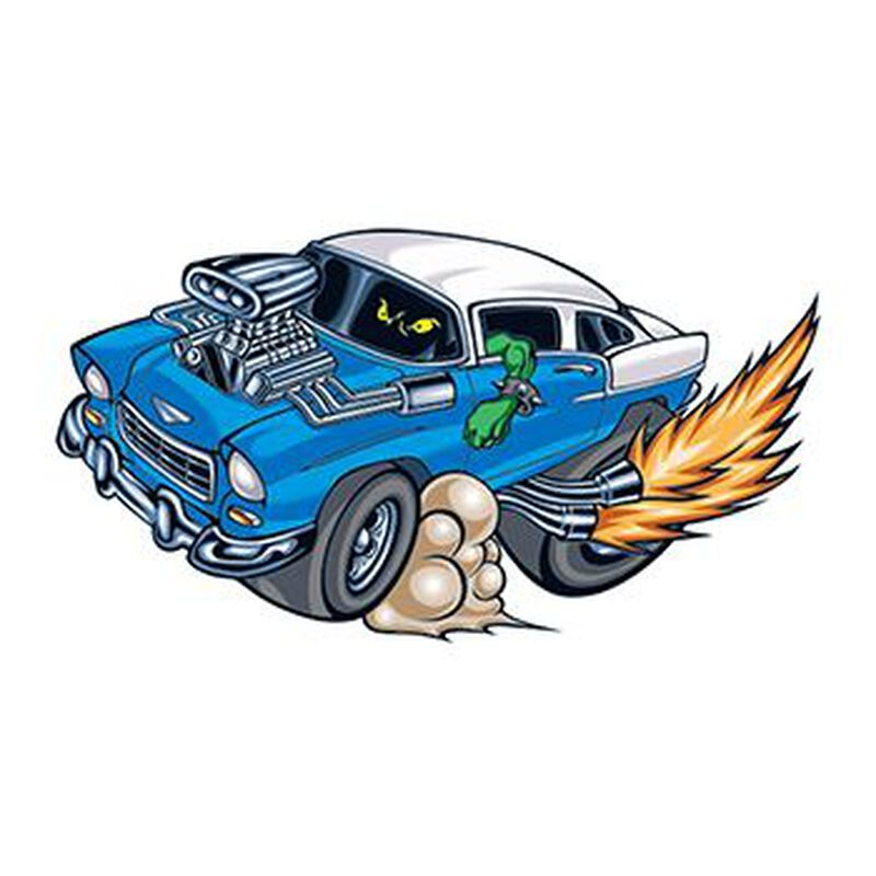 1955 Chevy Temporary Tattoo image number null