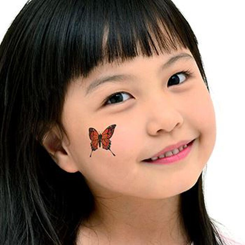 Monarch Butterfly Temporary Tattoo image number null