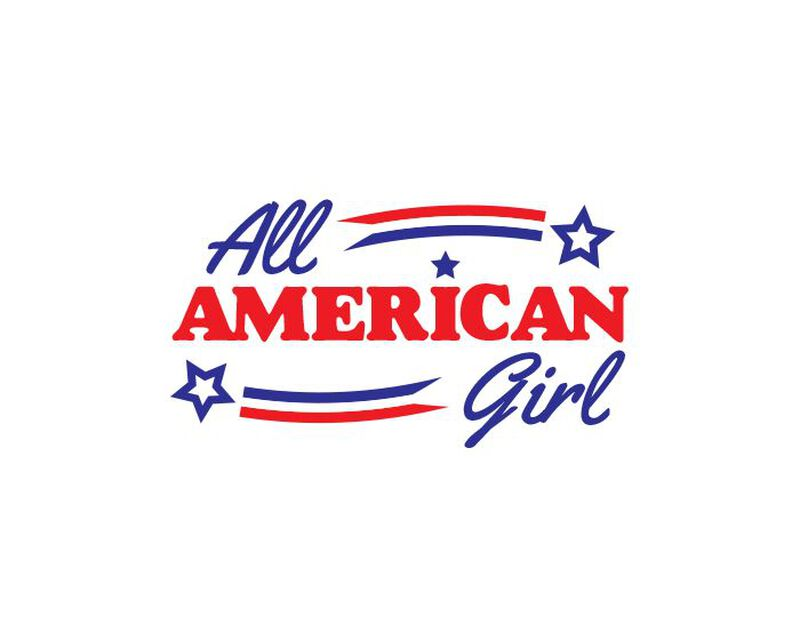 All American Girl Temporary Tattoo image number null