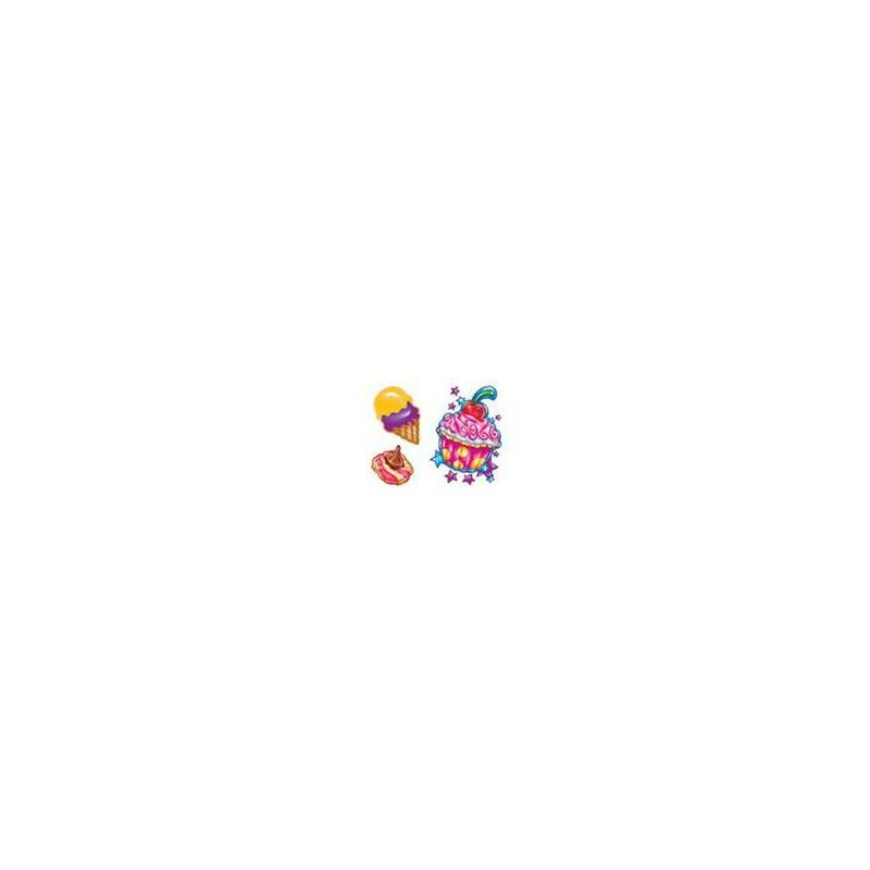 Sweet Shop Cupcake Temporary Tattoo image number null