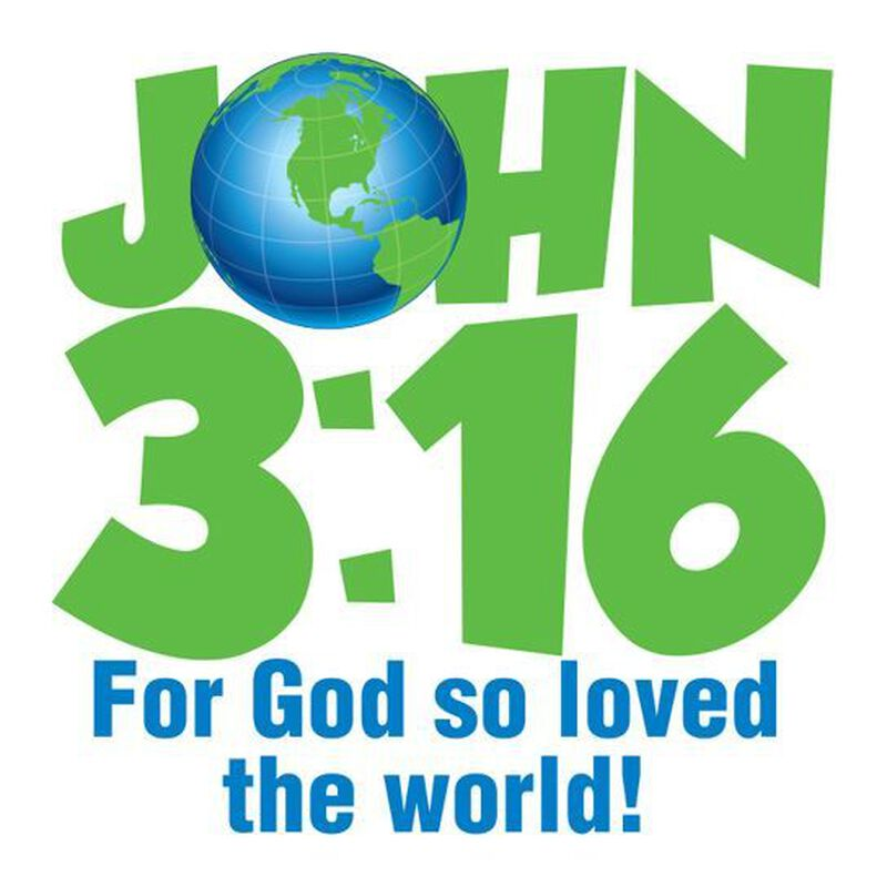 John 3:16 Earth Temporary Tattoo image number null