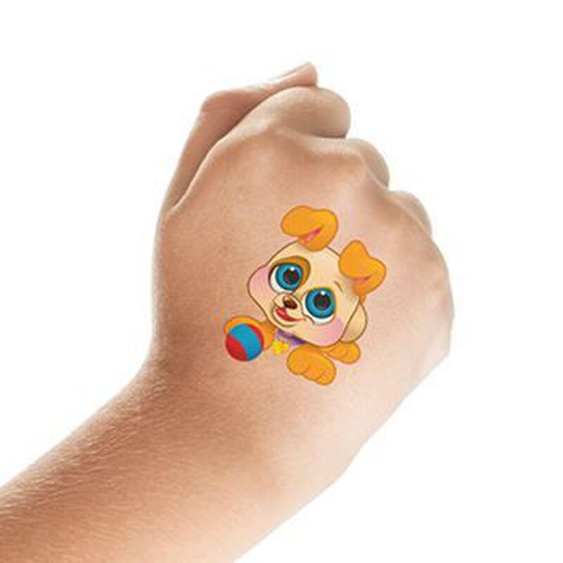 Adorable Puppy Temporary Tattoo image number null