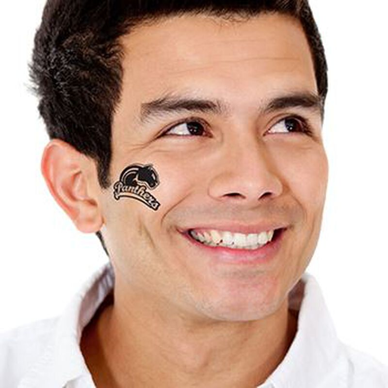 Panthers Temporary Tattoo image number null