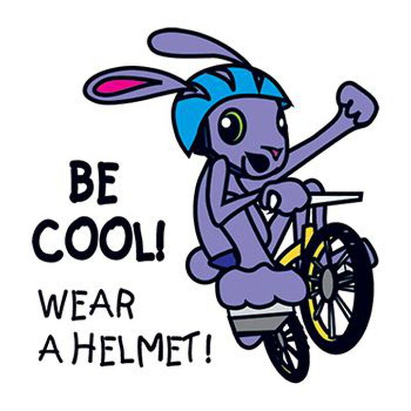 Wear A Helmet Temporary Tattoo image number null