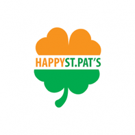 Happy St. Pat's Clover Temporary Tattoo