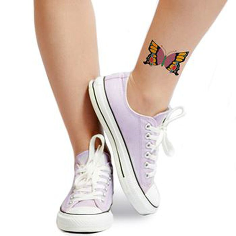 Elegant Butterfly Insect Temporary Tattoo image number null