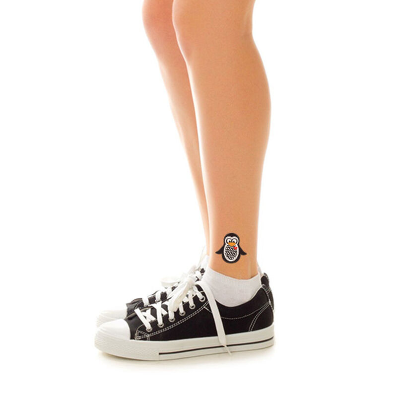 Cute Penguin Temporary Tattoo image number null
