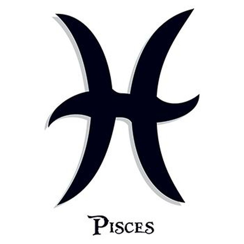 Zodiac: Pisces Temporary Tattoo image number null