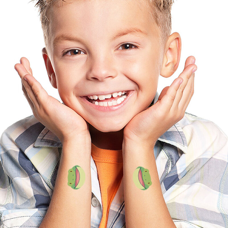 Friendly Frog Temporary Tattoo image number null