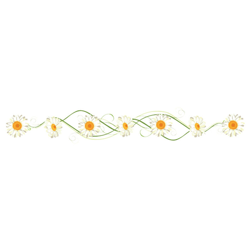 Daisy Vine Jewelry Band Temporary Tattoo image number null