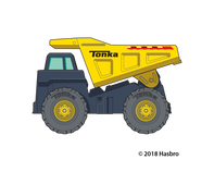 Tonka Dump Truck Temporary Tattoo