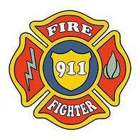 Firefighter Patch Temporary Tattoo