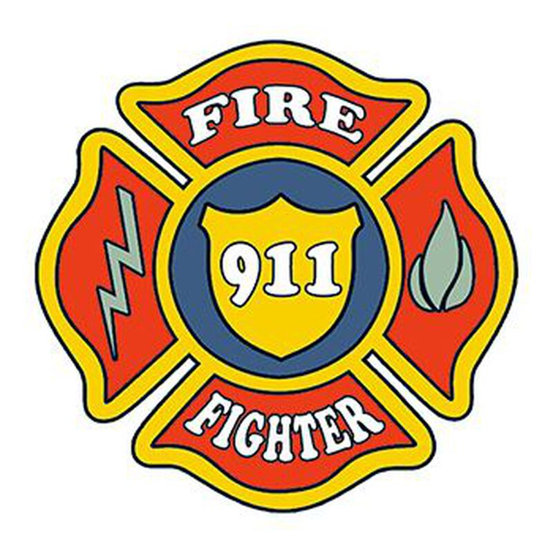 Firefighter Patch Temporary Tattoo image number null