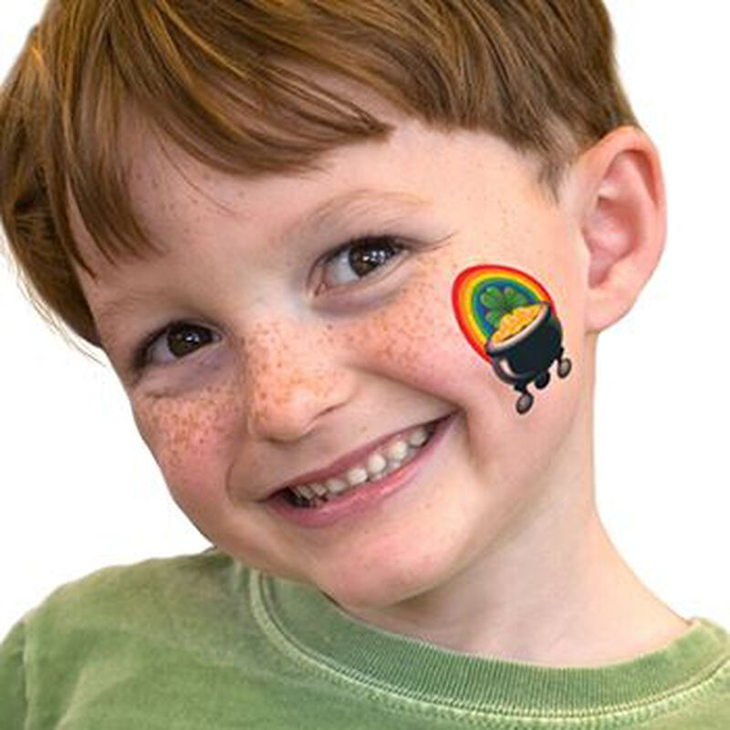 Pot of Gold Temporary Tattoo image number null